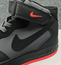 Buty męskie NIKE AIR FORCE 1 High 315123-031 black/orange