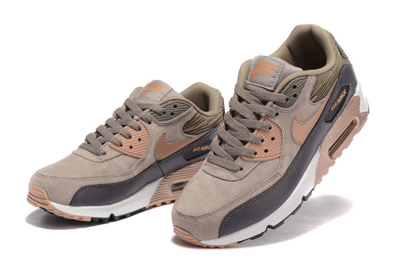 online store 28b0e 607fd ... Buty męskie Nike Air Max 90 BRĄZOWE jesienno - zimowe 768887-201 ...