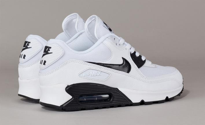 Nowa lista taniej wyprzedaż resztek magazynowych Buty damskie Nike Air Max 90 616730-110 BIAŁE/CZARNE
