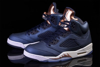 NIKE AIR JORDAN RETRO 5 Bronze 136027-416