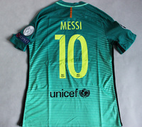 Koszulka piłkarska FC BARCELONA NIKE 16/17 Vapor Match 3rd, #10 Messi