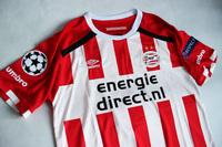Koszulka piłkarska PSV EINDHOVEN home 16/17 UMBRO #9 De Jong
