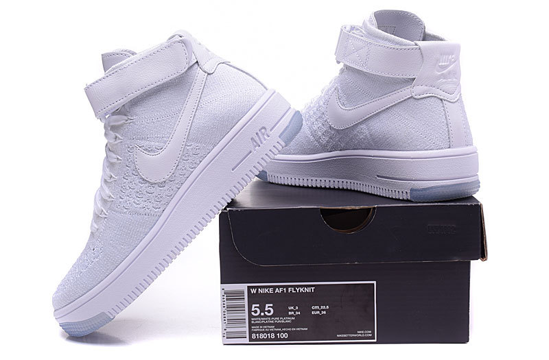 Buty damskie Nike Air Force 1 Ultra Flyknit 818018 100