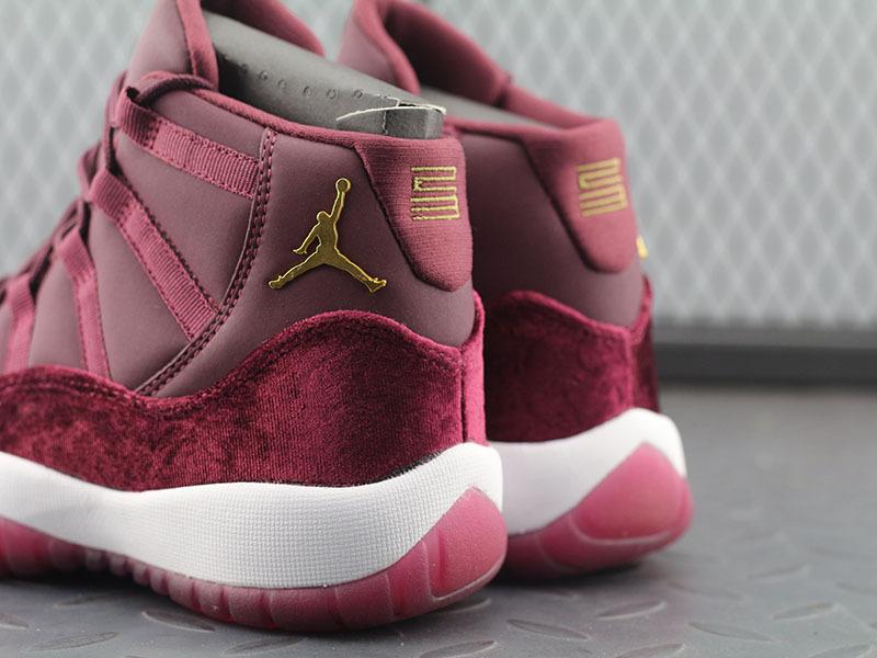 new style 6149d 8b8f0 Air Jordan 11 Retro RL GG Velvet Athletic 852625 650 Nike