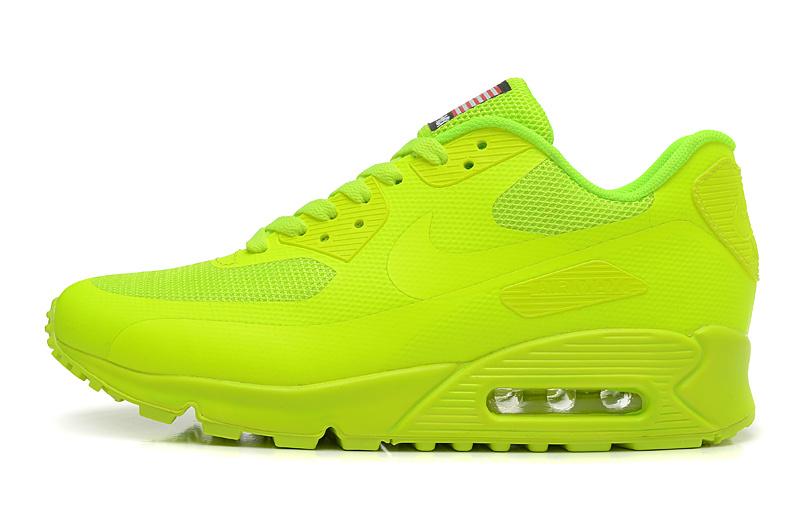 designer fashion 98857 a7d01 Buty męskie NIKE AIR MAX 90 HYPERFUSE zielone jaskrawe