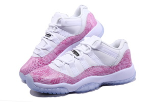 Buty damskie NIKE AIR JORDAN 11 Retro Low Pink 580521-108