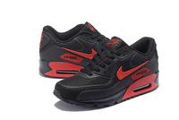 BUTY damskie NIKE AIR MAX 90 black-red