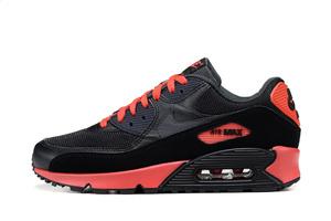 BUTY męskie Nike Air Max 90 537384-016 czarno-czerwone