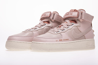 "Damskie buty NIKE AIR FORCE 1 High Utility ""Raw Pink"" AJ7311-200"