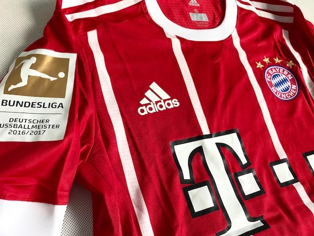 167a4d4ca ... Koszulka piłkarska BAYERN MONACHIUM Authentic Home 17/18 ADIDAS, #9  Lewandowski ...