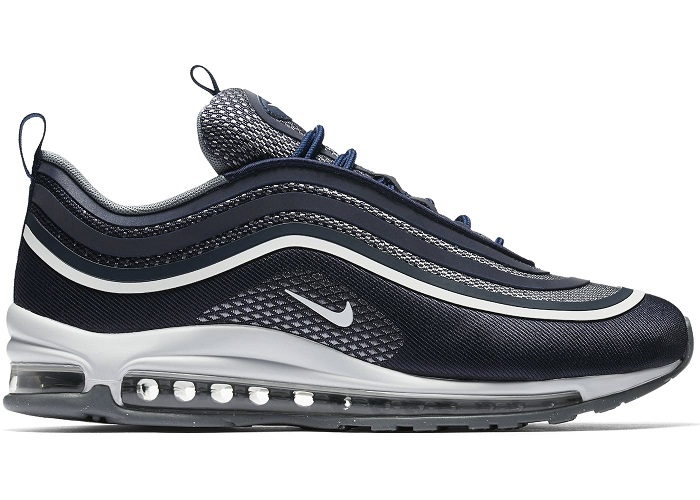 outlet store 9bc21 68d55 Buty męskie Nike Air Max 97 ULTRA 17 TRAINERS IN BLUE 918356-400