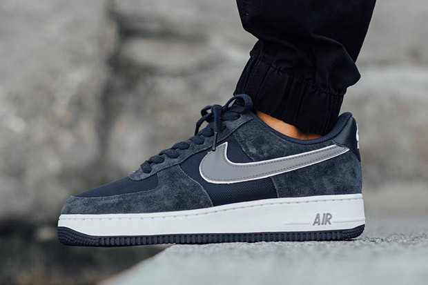 sports shoes 1819a 822b8 BUTY męskie NIKE AIR FORCE 1 Low 488298-433 Navy Blue ...