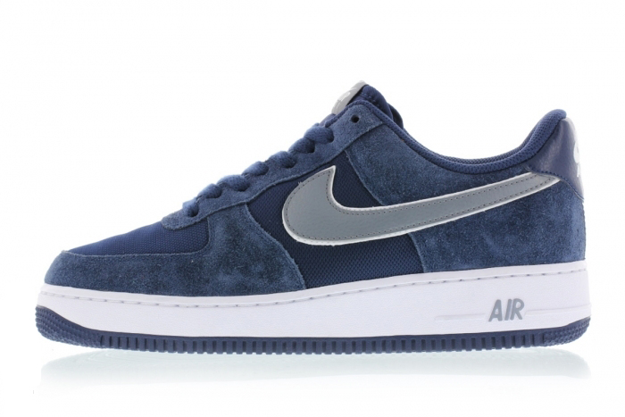 quite nice 1fc6b 9e893 BUTY męskie NIKE AIR FORCE 1 Low 488298-433 Navy Blue