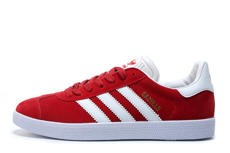 buty adidas czerwono biale damskie