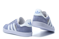 ADIDAS GAZELLE damskie niebiesko - białe