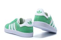 ADIDAS GAZELLE damskie zielono - białe