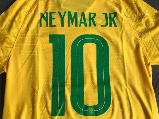 4c6a8f3b7 ... Koszulka piłkarska BRAZYLIA NIKE Vapor Match Home 2018, #10 Neymar Jr.  ...