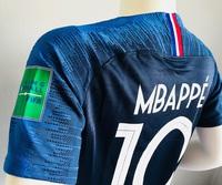 Koszulka piłkarska FRANCJA NIKE Vapor Match Home 2018, #10 Mbappe