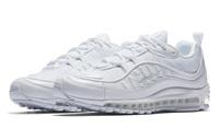 Buty damskie Nike Air Max 98 TRIPLE WHITE 640744-106