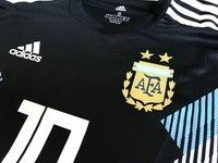 Koszulka piłkarska ARGENTYNA Away 2018 Authentic ADIDAS #10 MESSI