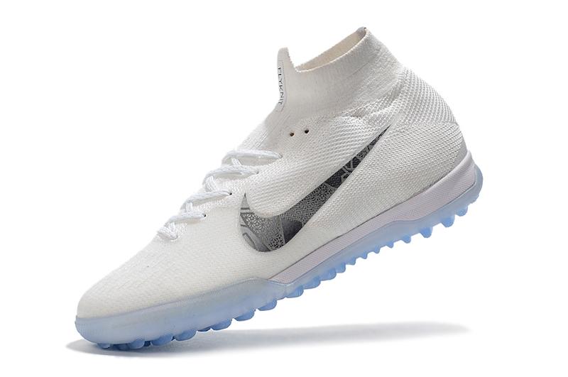 4071ac2c217c Nike Mercurial Superflyx Vi Elite Tf - White metallic Cool Grey ...