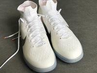 Nike Mercurial SuperflyX VI Elite TF - White/Metallic Cool Grey