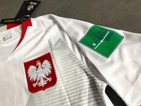 Zestaw piłkarski POLSKA Breathe Stadium Home 2018, #9 Lewandowski