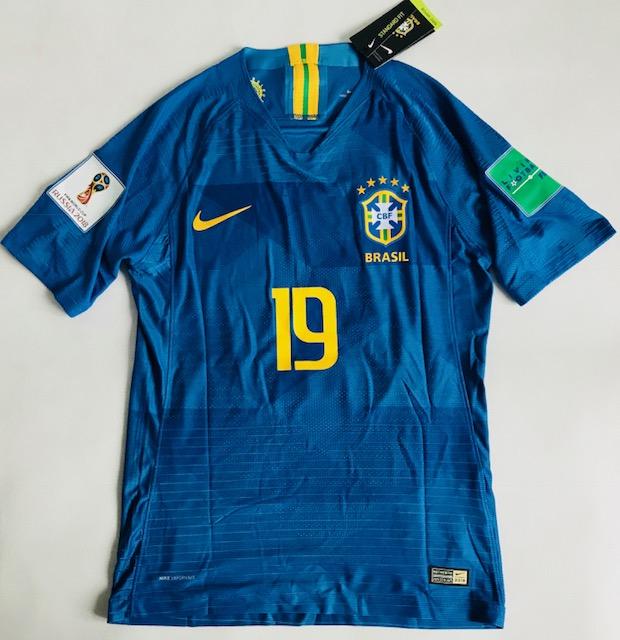 742434e20 Koszulka piłkarska BRAZYLIA NIKE Vapor Match Away 2018, #10 Neymar Jr.