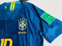 Zestaw piłkarski BRAZYLIA NIKE Vapor Match Away 2018, #10 Neymar Jr.