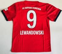 Dziecięcy zestaw piłkarski BAYERN MONACHIUM home 18/19 ADIDAS #9 LEWANDOWSKI