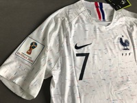 Koszulka piłkarska FRANCJA NIKE Vapor Match Away 2018, #7 Griezmann