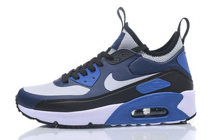 Buty męskie NIKE AIR MAX 90 ULTRA MID WINTER SE Navy-White