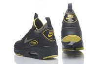 Buty męskie Nike air max 90 ULTRA MID WINTER SE czarno-żółte