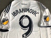 Koszulka piłkarska LA GALAXY home 18/19 Authentic ADIDAS, #9 Ibrahimović