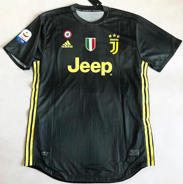 d1d5ff54a Koszulka piłkarska JUVENTUS TURYN 3rd 18/19 ADIDAS Authentic Parley, #7  Ronaldo