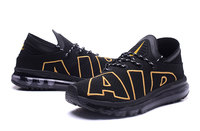 "Buty męskie Nike Air Max Flair ""BLACK-GOLD"""