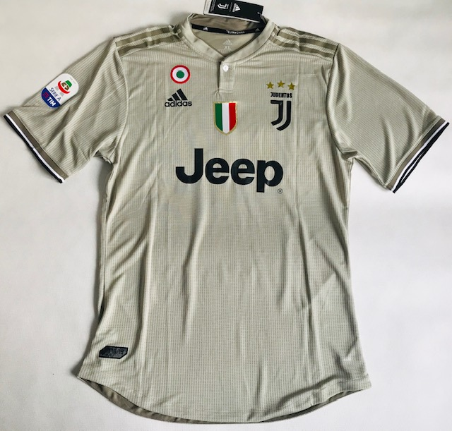 dbeb13e32 Koszulka piłkarska JUVENTUS Turyn away 18/19 Authentic ADIDAS, #7 Ronaldo