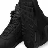 NIKE AIR MAX 90 Sneakerboot WINTER All Black 684714-002