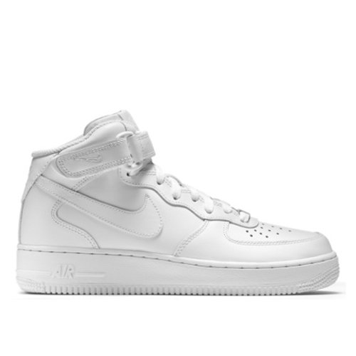 sports shoes abd3e 4e557 ... BUTY damskie NIKE AIR FORCE 1 Mid 07 All White 315123-111 ...