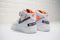 """Buty męskie Nike Air Force 1 Mid """" Just do it """" AQ8650-100"""
