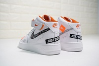 "Buty damskie Nike Air Force 1 Mid "" Just do it "" AQ8650-100"