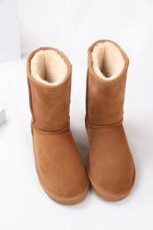 Zimowe buty ŚNIEGOWCE UGG Australia Classic, jasne brązowe , model 5825