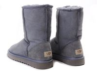 Zimowe buty ŚNIEGOWCE UGG Australia Classic, szare , model 5825