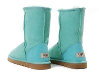 Zimowe buty ŚNIEGOWCE UGG Australia Classic, niebieskie , model 5825
