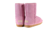 Zimowe buty ŚNIEGOWCE UGG Australia Classic, różowe , model 5825