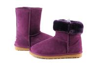 Zimowe buty ŚNIEGOWCE UGG Australia Classic, fioletowe , model 5825