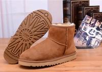 Zimowe buty ŚNIEGOWCE UGG Australia Classic Mini , jasne brązowe , model 5854
