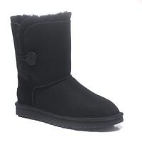 Zimowe buty ŚNIEGOWCE UGG Australia Bailey Button II , czarne , model 5803