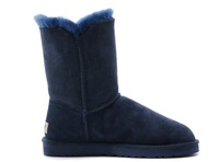 Zimowe buty ŚNIEGOWCE UGG Australia Bailey Button II , granatowe , model 5803