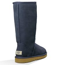 Zimowe buty ŚNIEGOWCE UGG Australia W Classic Tall II , granatowe , model 5815